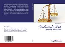 Bookcover of Perception on Non-salary Remuneration to Elected Political Personnel