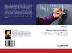 Portada del libro de University Motivation: