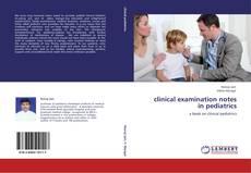 clinical examination notes in pediatrics kitap kapağı