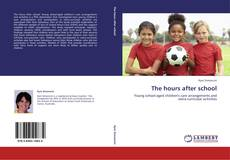 Bookcover of The hours after school