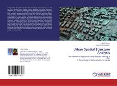 Bookcover of Urban Spatial Structure Analysis