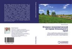 Обложка Очерки экономической истории Олонецкого края