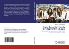 Capa do livro de Higher Education Faculty Development in Ethiopia