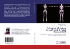 Estimation of stature through Limb & Facial Measurement kitap kapağı