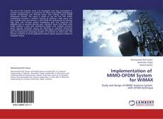 Portada del libro de Implementation of   MIMO-OFDM System   for WiMAX