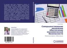 Bookcover of Совершенствование механизма обеспечения экономической безопасности