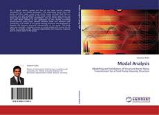 Bookcover of Modal Analysis