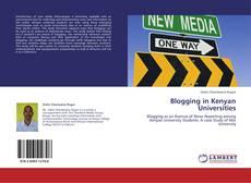 Copertina di Blogging in Kenyan Universities