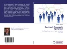 Forms of Address in Romanian kitap kapağı