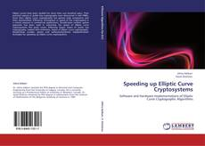 Bookcover of Speeding up Elliptic Curve Cryptosystems
