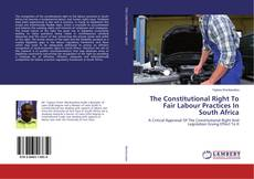 Bookcover of The Constitutional Right To Fair Labour Practices In South Africa