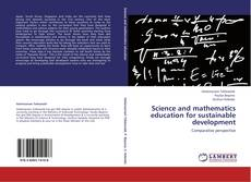 Science and mathematics education for sustainable development的封面