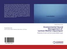 Bookcover of Environmental Sound Management of    Lactose Mother Liquoriquor