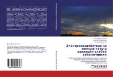 Bookcover of Электровоздействия на земную кору и вариации слабой сейсмичности