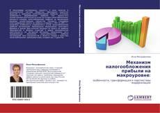 Bookcover of Механизм налогообложения прибыли на макроуровне: