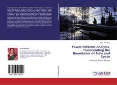 Capa do livro de Power Reforms Analysis-Transcending the Boundaries of Time and Space