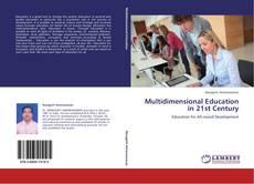 Buchcover von Multidimensional Education in 21st Century