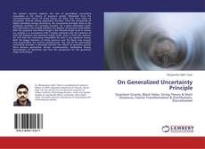 Bookcover of On Generalized Uncertainty Principle