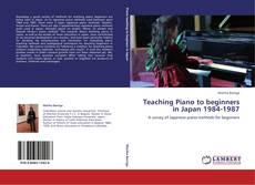 Buchcover von Teaching Piano to beginners in Japan 1984-1987