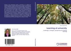 Bookcover of Learning at university