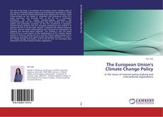 Capa do livro de The European Union's Climate Change Policy