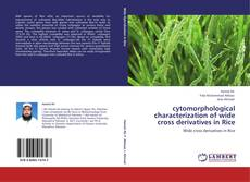 Обложка cytomorphological characterization of wide cross derivatives in Rice