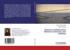 Portada del libro de Research Collaboration Between University and Industry