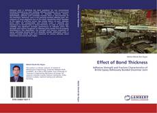 Portada del libro de Effect of Bond Thickness