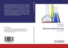 Bookcover of Manual of Biochemistry