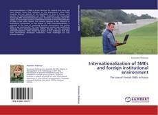 Portada del libro de Internationalization of SMEs and foreign institutional environment