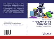 Portada del libro de Automatic Extraction and Validation of Lexical Ontologies from text