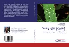Buchcover von Plants of Indian Systems of Medicine (Volume-I)