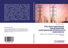 Обложка Реструктуризация предприятий электроэнергетического комплекса