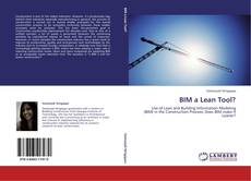 Bookcover of BIM a Lean Tool?