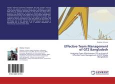 Bookcover of Effective Team Management of GTZ Bangladesh