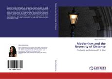 Bookcover of Modernism and the Necessity of Distance