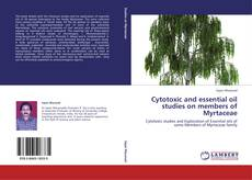 Capa do livro de Cytotoxic and essential oil studies on members of Myrtaceae