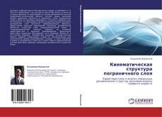 Bookcover of Кинематическая структура пограничного слоя