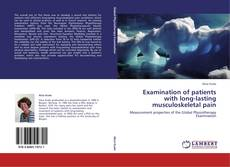 Copertina di Examination of patients with long-lasting musculoskeletal pain