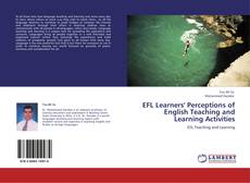 Couverture de EFL Learners' Perceptions of English Teaching and Learning Activities