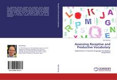 Bookcover of Assessing Receptive and Productive Vocabulary