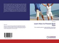Обложка Learn How to Prevent Back Pain