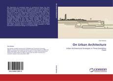 Обложка On Urban Architecture