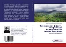 Bookcover of Физические эффекты  конформной калибровочной  теории тяготения