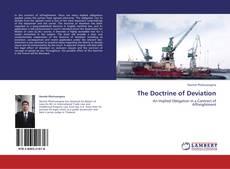 Couverture de The Doctrine of Deviation