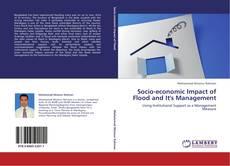 Socio-economic Impact of Flood and It's Management kitap kapağı