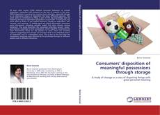 Buchcover von Consumers' disposition of meaningful possessions through storage