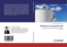 Thailand's Enengy Security kitap kapağı