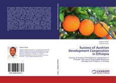 Portada del libro de Success of Austrian Development Cooperation in Ethiopia