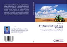 Bookcover of Development of Small Scale Industries